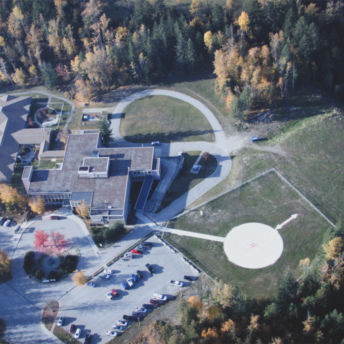 Completed QVH Helipad - Photo credit: Mike Pirnke