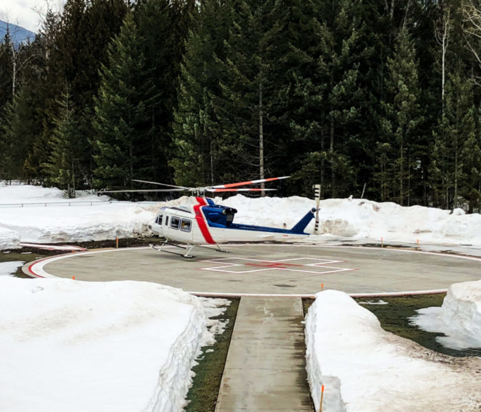 Revelstoke Health Foundation Helipad