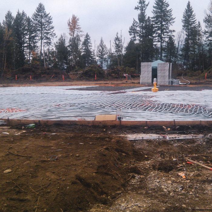 QVH HeliPad Construction